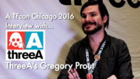 WTF @ TFcon Chicago 2016 – 02 – Interview with ThreeA's Gregory Prout